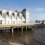 Side view of Penarth Pier Pavilion
