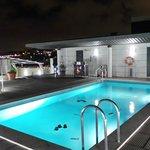 Pool auf der Dachterrasse