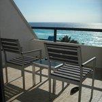 Balcon de la chambre Vue sur Mer