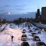 Exceptionally Cold and Snowy Chicago Winter