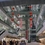 Biblioteca de Guangzhou por dentro