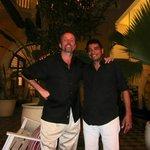 Jose & my husband