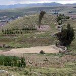 View from the Mirador del Titicaca Estate