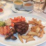 Yummy fillet steak