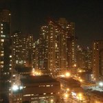 Night view from room #1602 of Chicago