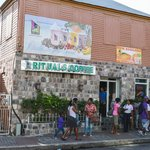 down town St-Kitts