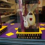 le lapin de pâques de pierre marcolini