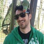 Me with a bird on my head!