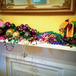 French Quarter Suite Mantle with our ZULU parade haul