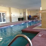 Great heated indoor pool by workout room