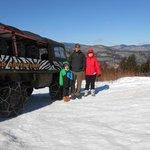 Alpine Adventures Pinzgauer tour.