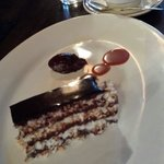 Delicious desserts - chocolate macaroon