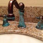 patina faucets