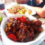 Oxtail stew, Creole-style