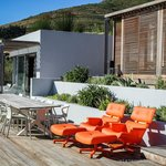 Have you seen Charles Eames in pool area? beautiful!!