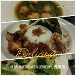 Dinner at the restaurant