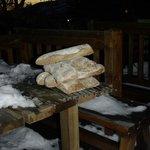 pain bientôt recouvert de délicieuse confiture
