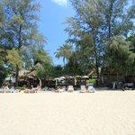Strand am Mittag