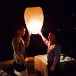 Our lantern with our wishes for our life together :)