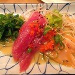 Fischcarpaccio japanisch