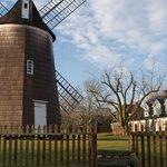Old Hook Mill in Winter