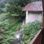 waterstroom vanaf balustrade