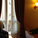 French Doors to Balcony