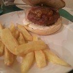 hamburguesa... muy estándar