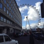 the hotel is very close to the London Eye