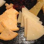 Surtido de quesos para finalizar