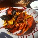 La poêlée fruit de mer et homard