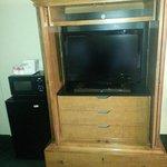 TV Fridge & Microwave Rm 219