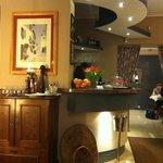 bar with nice decor