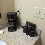 In room coffee pot