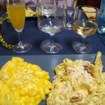 Woman's day feast with mimosas and safron infused pastas (gnocchi and pappardelle) - cooking cla