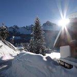 Das Kräuterhotel versinkt im Schnee!