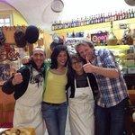 9 Marzo 2014, Michele e Iolanda e Sasja e Monica di Olanda