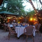 outdoor dinning at its best!