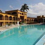 Pool area hotel