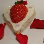 Special valentine's dessert surprise