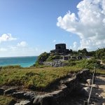 The astronomical observatory of the Mayan city of Tulum