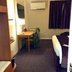 Spacious Premier Inn room