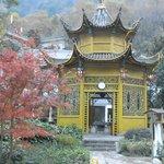 Une pagode où se reposer entre deux bains