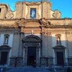Basilica above the hote;