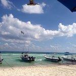 Los botes en la playa !!