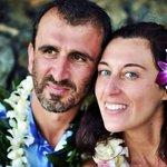 Italian guests Angelo & Alessandra, married on Maui