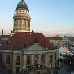 The Xmas markets were on in The Gendarmenmarkt