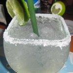 Hefty Margarita- they do not skimp!
