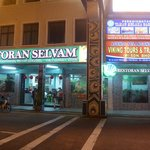 The New Selvam Restaurant across the road from the old one