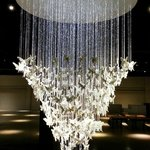 Lladro chandelier - one of about 4 in the world